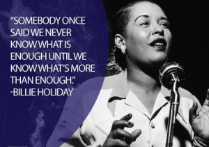 Jazz singer and songwriter Billie Holiday's voice made her unique ...