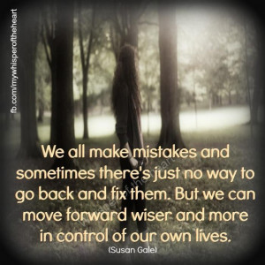 We all make mistakes…