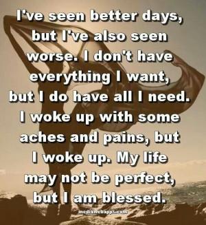 Feeling grateful today