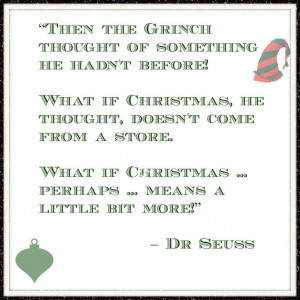 Christmas Advent Calendar Quote Day 1