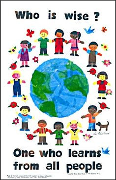 diversity quotes for children | ... who learns from all people ...