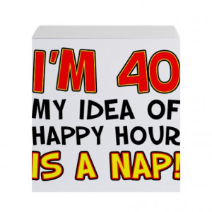 40th Birthday Notepads, 40th Birthday Leather Notepads, Sticky Note ...
