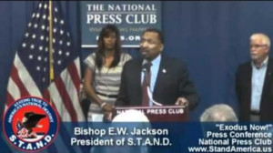 exodus now from the democratic party bishop e w jackson