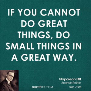 More Napoleon Hill Quotes on www.quotehd.com
