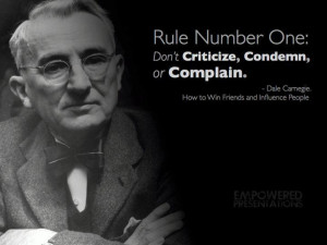 Carnegie quote - ideal for persuasion seminar or classroom lesson on ...