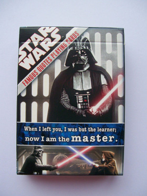 Star Wars Famous Quotes Playing Cards