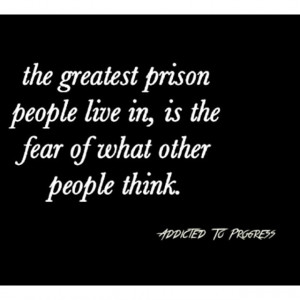 Mental prison isn't a place you should want to be or even visit ! #atp ...