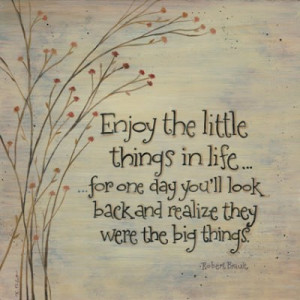 Quotes Small things