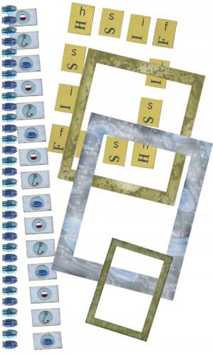 Kit Elements (Digital Scrapbooking) - One Fish Two Fish 3