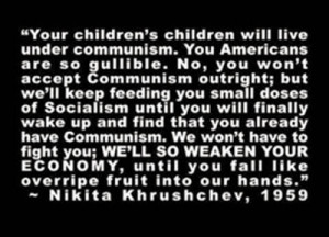 Famous Quotes: Obama or Khrushchev?