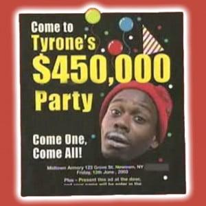 Tyrone Biggums Free Crack Giveaway