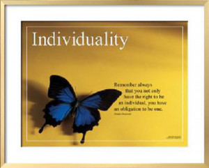 Individuality - Originality Quotations