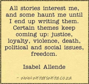 Isabel Allende quote!