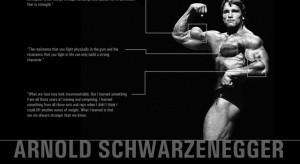 Arnold Schwarzenegger exercise inspirational training quote