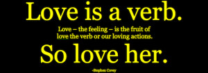 Military Wife Quotes: Love Is A Verb