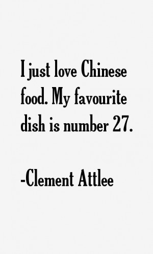 Clement Attlee Quotes & Sayings