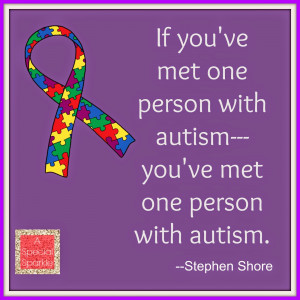 stephen shore quote about autism Autism Sayings And Quotes