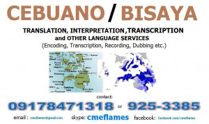 Learn Cebuano ; Cebuano Translation, Cebuano Interpretation and other ...