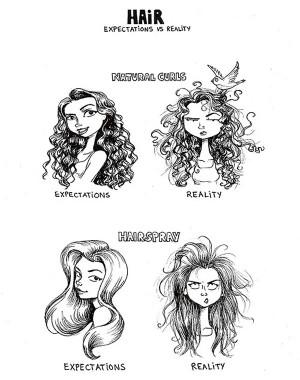 Hair: Expectations vs. Reality