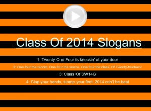 Funny Slogans For Class Of 2014