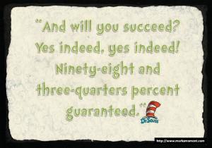 Dr.Seuss Famous Quotes, Markamoment