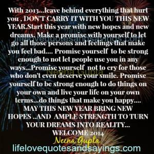 MAY THIS NEW YEAR BRING NEW HOPES .