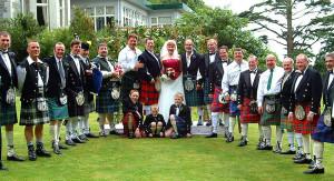 Scottish Kilted Weddin'/Union Threid!
