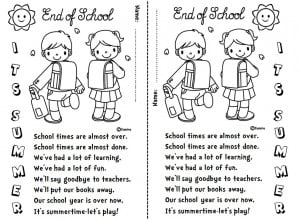 End Of School Year Quotes End of school year (poem)