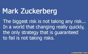 Risk Quotes and Sayings