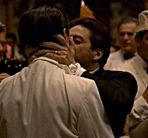 You broke his heart, Fredo. John Cazale and Al Pacino (as Michael ...