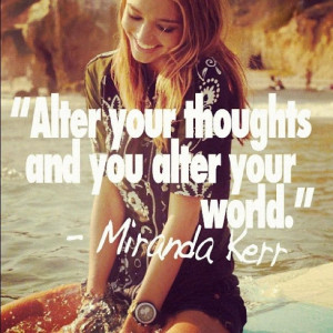 One of the many quotes I loved from Miranda Kerr's book. #hayhouse