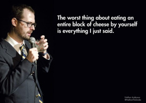 ... out our new article with 20 More Hilarious Stand-up comedy quotes