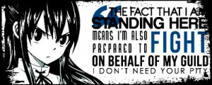Wendy Quote - fairy-tail Fan Art