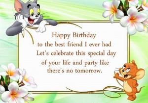 best friend birthday quotes to wish happy birthday to the best friend ...