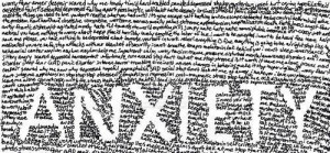 art depressed depression Typography anxiety word fear overwhelmed