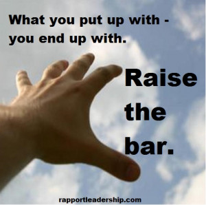 Bar Quotes Raise the bar. quotes from