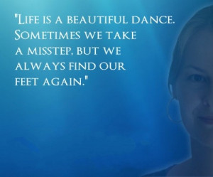 Inspirational dance quotes life