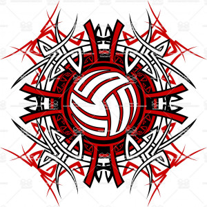 Volleyball Tribal...
