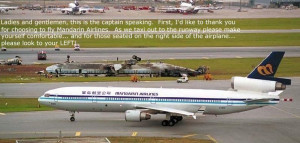 Mandarin Airlines Don't Look