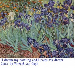 Quote by Vincent van Gogh: