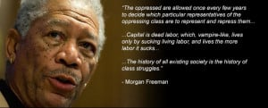 Questions that Morgan Freeman Racism Quote prepares to things that he ...