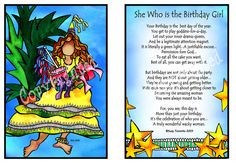 she who is the birthday girl - suzy toronto