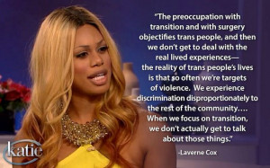 Laverne Cox dropping knowledge. She is so amazing