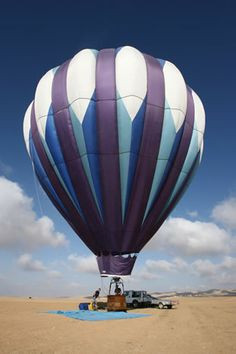 Flying above Israel in a hot air balloon Air Baloon, Air Ballon ...
