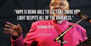 Desmond Tutu Forgiveness Quotes
