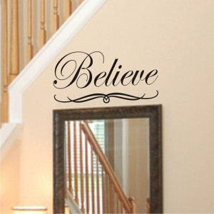 Wall Quote Decal Large Vinyl Wall by SavvyGalWallDecals, $14.50 #wall ...