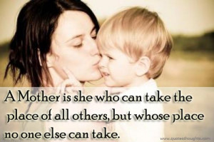 Mother And Son Love Quotes Photo
