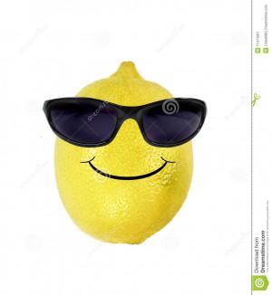 Funny Lemon Sunglasses...