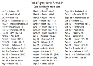 ... verses that you can print and use to follow along, looking up verses