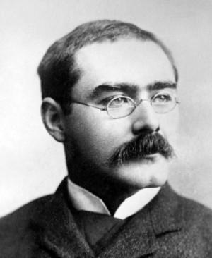 Rudyard Kipling, 1865–1936. Skrev Just så-historierna.